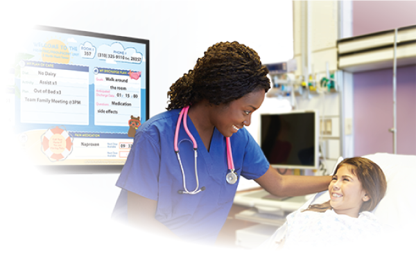 Digital interactive board with patient engagement