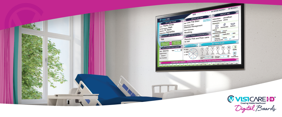 VisiCare™ Digital Boards